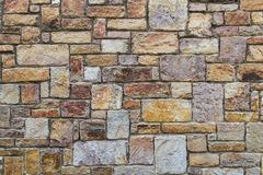 Pomarańczowa szorstka cegły tekstura zdjęcie royalty free