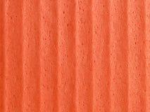 pomarańczowa tło gąbka Obraz Stock