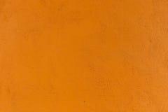 pomarańczowa tekstury ściany Zdjęcia Royalty Free