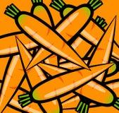 Pomarańczowe marchewki Fotografia Royalty Free