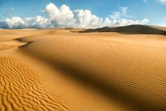 Pomarańczowe miękkie piasek diuny Obrazy Royalty Free