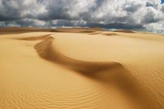 Pomarańczowe miękkie piasek diuny Obrazy Stock
