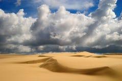 Pomarańczowe miękkie piasek diuny Zdjęcie Royalty Free