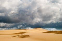 Pomarańczowe miękkie piasek diuny Fotografia Royalty Free
