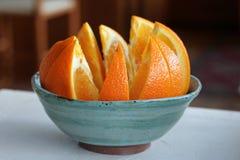 pomarańczowe sekcje fotografia stock