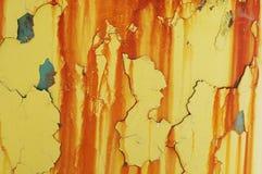 pomarańczowe zaciągów Obraz Stock