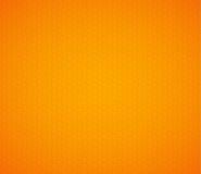 Pomarańczowego koloru żółtego sześciokąta honeycomb tło Obraz Royalty Free