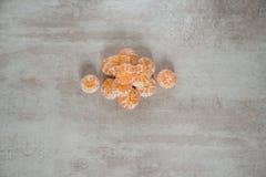 Pomarańczowi Mandarines, Clementines, Tangerines lub małe pomarańcze, Zdjęcia Royalty Free
