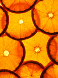 pomarańczowi plasterki Obrazy Royalty Free