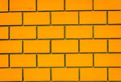 Pomarańczowy ściana z cegieł Sirindhorn budynek Fotografia Stock