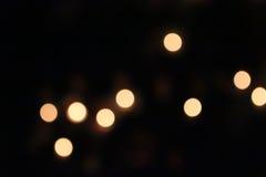 Pomarańczowy światło, okrąg i jasnożółty, Zdjęcie Stock