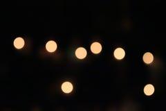 Pomarańczowy światło, okrąg i jasnożółty, Zdjęcie Royalty Free