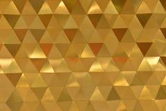 Pomarańczowy Abstrakcjonistyczny Heksagonalny kształta tło, tapeta Zdjęcie Royalty Free