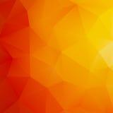 Pomarańczowy Abstrakcjonistyczny siatki tło. + EPS10 Obraz Stock