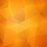 Pomarańczowy Abstrakcjonistyczny siatki tło + EPS10 Zdjęcie Stock