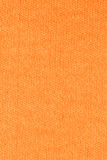 Pomarańczowy bawełnianej tkaniny tekstury tło, zamyka up Zdjęcie Royalty Free