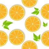 Pomarańczowy bezszwowy tło Zdjęcia Stock