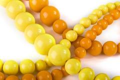 pomarańczowy chaplet kolor żółty Zdjęcia Royalty Free
