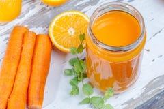 Pomarańczowy detox fotografia royalty free