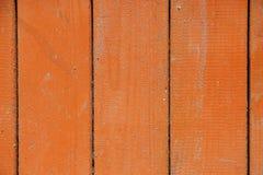 Pomarańczowy drewniany tło Zdjęcie Royalty Free