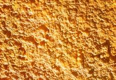 Pomarańczowy garbka betonu tekstury tło zdjęcie stock