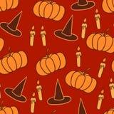 Pomarańczowy Halloween tło Zdjęcia Royalty Free