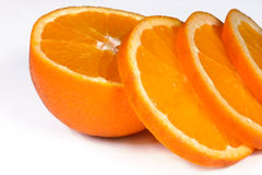 pomarańczowy i świeże Zdjęcia Royalty Free
