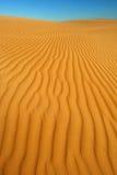 Pomarańczowy miękkiej części pustyni piasek Obraz Royalty Free