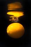 pomarańczowy odbicie Fotografia Stock
