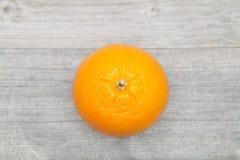 Pomarańczowy odgórny widok Obraz Stock