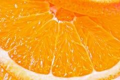 Pomarańczowy owocowy tło Obraz Royalty Free