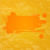 Pomarańczowy pluśnięcia tło Zdjęcia Stock