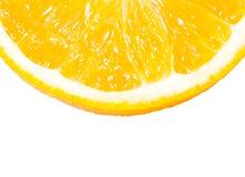 pomarańczowy przecięcie blisko Obraz Stock