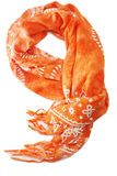 pomarańczowy szalik obraz royalty free
