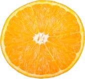 Orange_slice odizolowywał Zdjęcie Stock