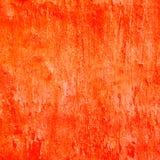 Pomarańczowy sztukateryjny tło Zdjęcie Stock