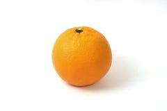 pomarańczowy tło biel Fotografia Royalty Free