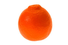 pomarańczowy tło biel Zdjęcie Stock