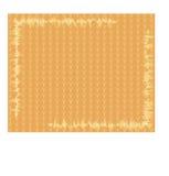 Pomarańczowy tło z małymi trójbokami Zdjęcia Stock