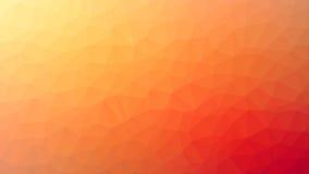 Pomarańczowy Triangulated tło Obrazy Stock