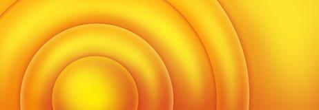 pomarańczowy w tle żółty Fotografia Stock