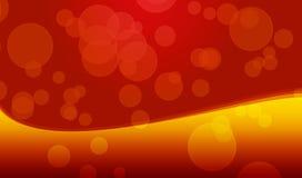 pomarańczowy w tle żółty Fotografia Royalty Free