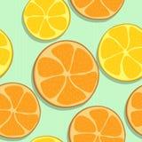 pomarańcze bezszwowy deseniowy Zdjęcia Stock