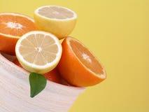 pomarańcze cytryn, Obrazy Stock