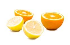 pomarańcze cytryn, Zdjęcia Stock
