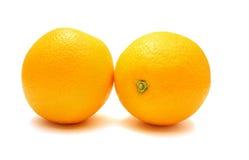 pomarańcze dwa Fotografia Stock