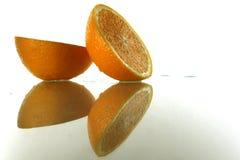 pomarańcze dwa Obraz Stock