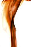 Pomarańcze dym Obraz Stock