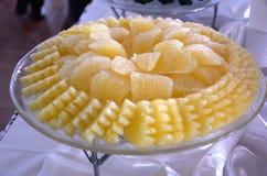 Pomarańcze i ananas Obraz Stock