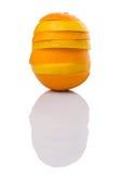 Pomarańcze I cytryny Owocowi plasterki VII Fotografia Stock
